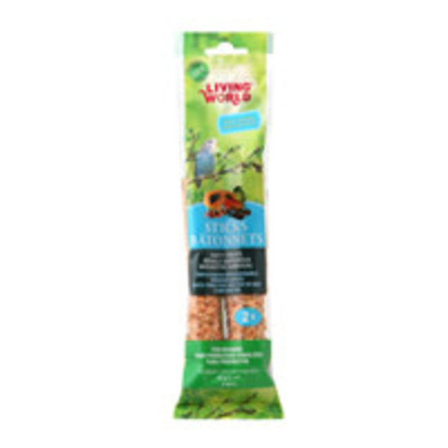 Living World Fruit Flavour  Budgie Sticks