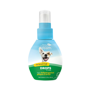 Tropiclean 2.2 oz Fresh Breath Water Drops