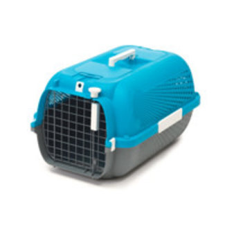 Cat It Turquoise Carrier 22 x 14.8 x 12 in