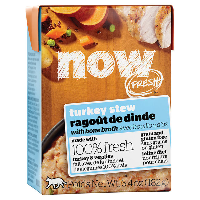 Now Fresh 6.4oz Turkey Stew with Bone Broth