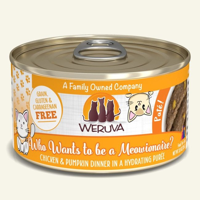 Weruva 3oz Who Wants to be a Meowionaire?