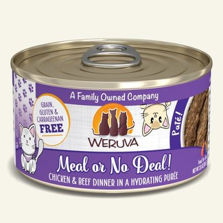 Weruva 3oz Meal or No Deal!