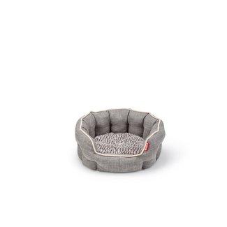 """Budz 17.5x 15.5"""" Round Deluxe Bed Cuddler"""