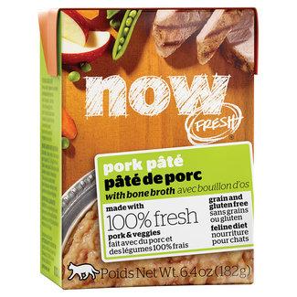Now Fresh 6.4oz Pork Pate with Bone Broth