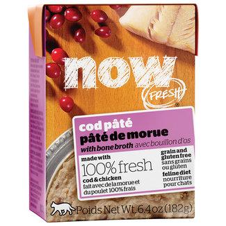 Now Fresh 6.4oz Cod Pate with Bone Broth