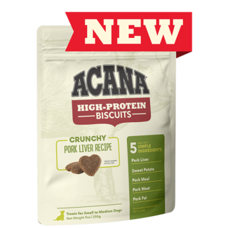 Acana 9oz Crunchy Pork Liver Recipe