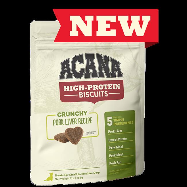 Acana 9oz Crunchy Pork Liver Recipe