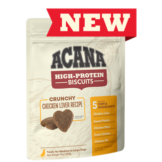 Acana 9oz Crunchy Chicken Liver Recipe