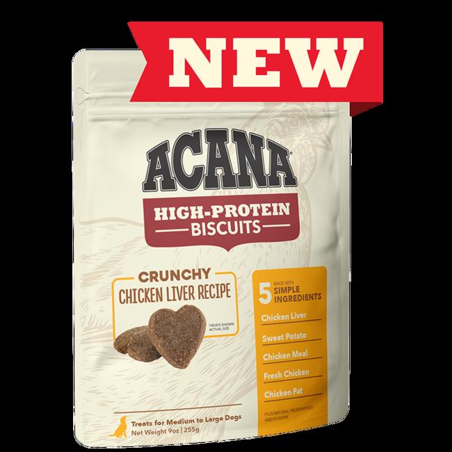 Acana 9oz Crunchy Chicken Liver Recipe