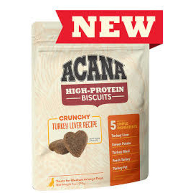 Acana 9oz Crunchy Turkey Liver Recipe