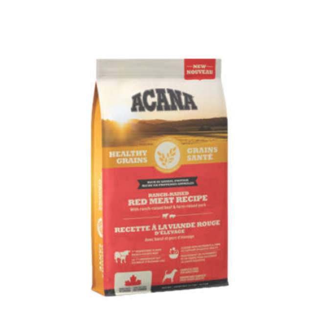 Acana Healthy Grains Ranch-Raised Red Meat Recipe***Fall Sale***