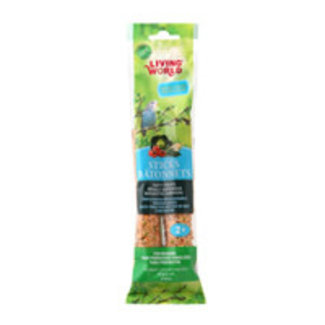 Living World Vegetable Flavour  Budgie Sticks