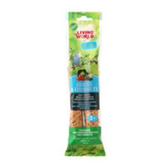 Living World Vegetable Flavour  Budgie Sticks