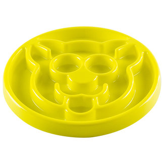 Be One Breed Slow Feeder Yellow 8x8""