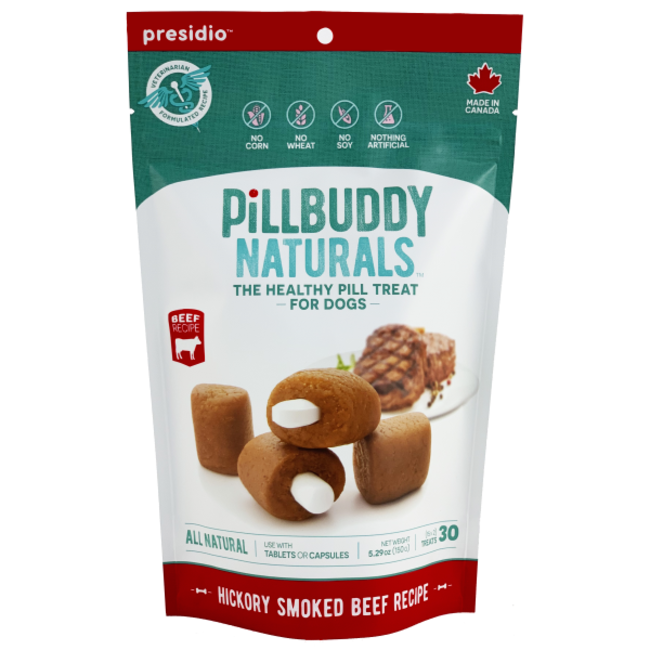 Pill Buddy 150g Naturals Hickory Smoked Beef 30ct