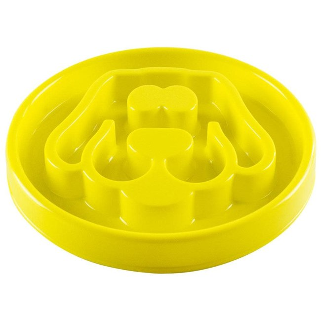 Be One Breed 12x12 Yellow Slow Feeder
