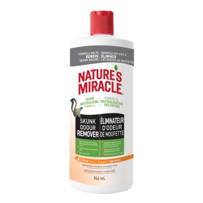 Natures Miracle 32oz Skunk Odor Remover Citrus