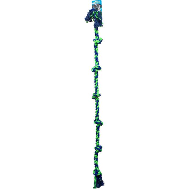 "Knotty & Nice 72"" XXL Blue & Green Rope"