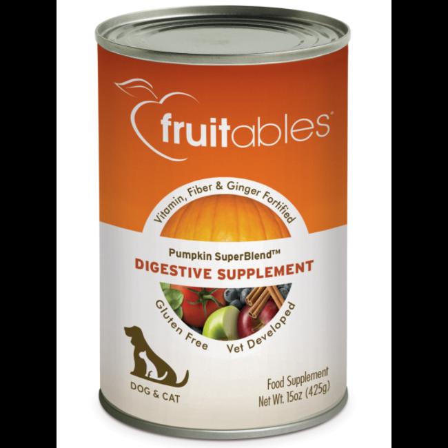 Fruitables 15oz Dog & Cat Pumpkin Digestive Supplement