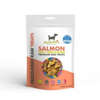 McLovin's Pet 2.5oz Freeze-Dried Salmon