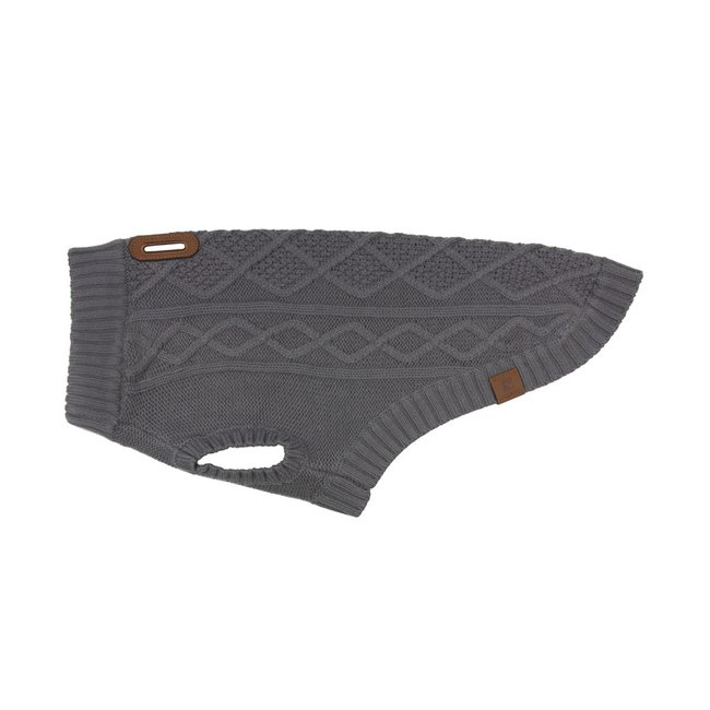 RC Pets XXL Charcoal Cable Sweater