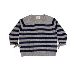 jumper 1234 stripe tie sweater