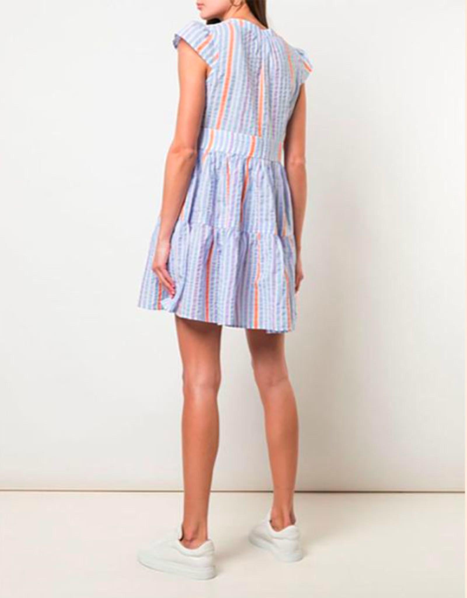 lemlem bahiri flutter sleeve dress