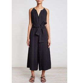 apiece apart sleeveless isla jumpsuit solid