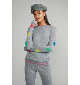 wyse luca merino star sweater