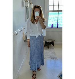 bamyan summer elastic waist skirt