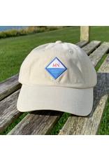 magnetic north MN twill baseball hat