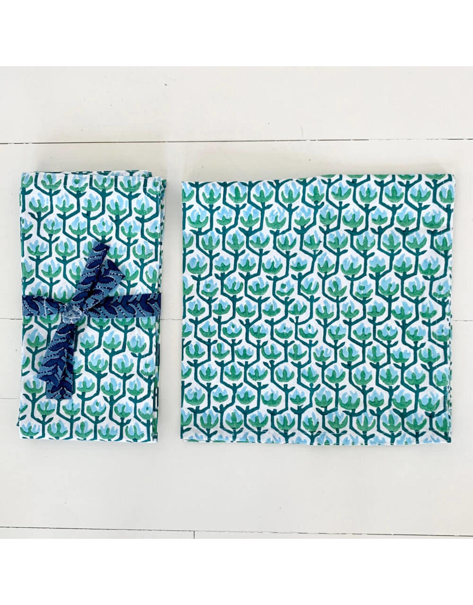 walter g hemosa emerald napkins (set of 4)