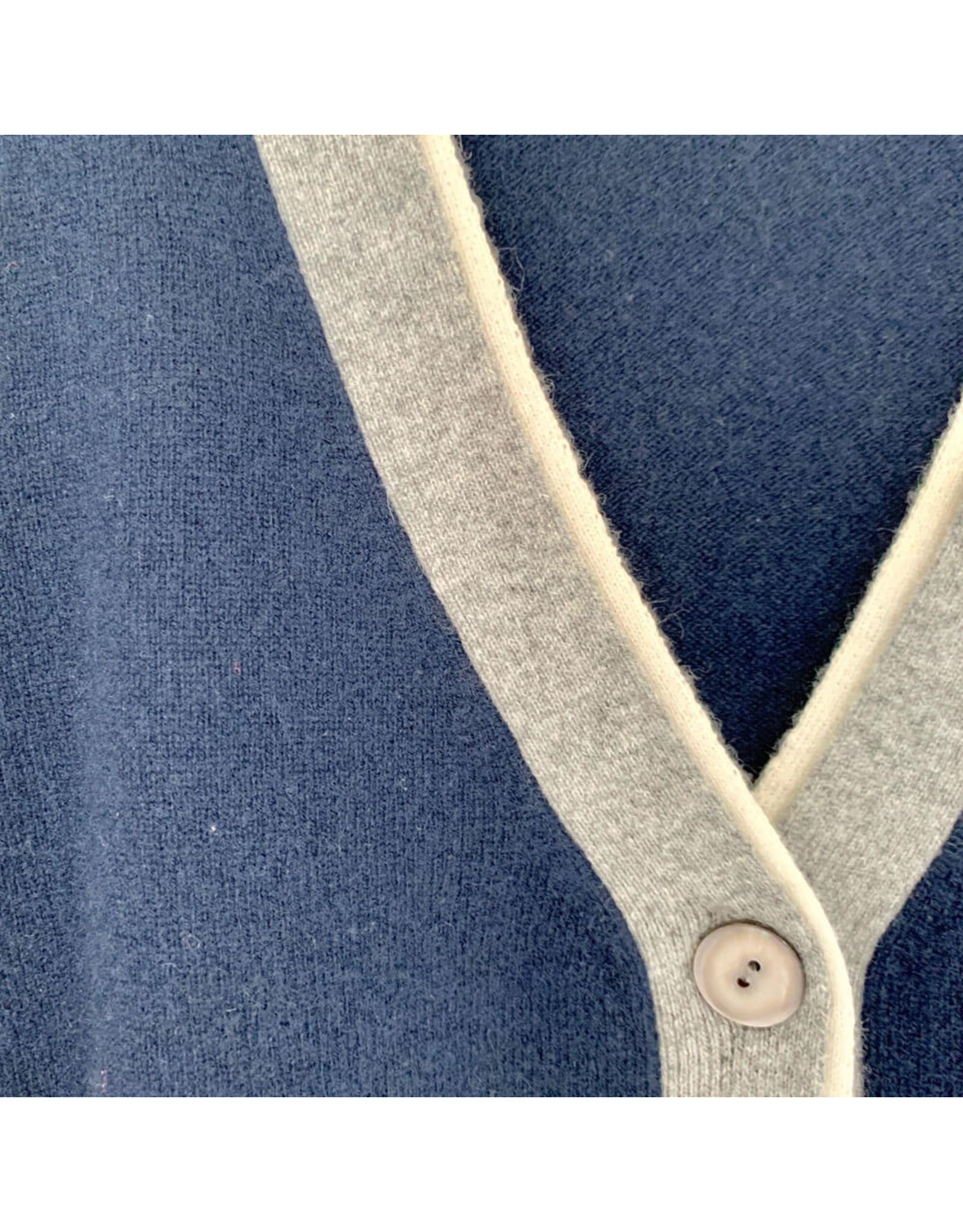 jumper 1234 small double rib cardigan