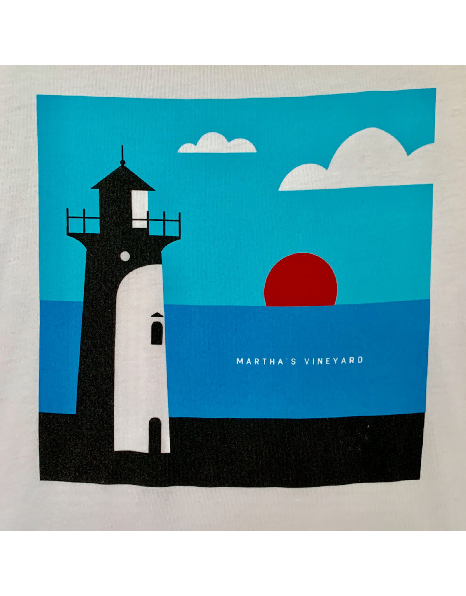magnetic north MN unisex lighthouse tee