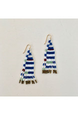 alice rise es5 baby picasso striped earrings