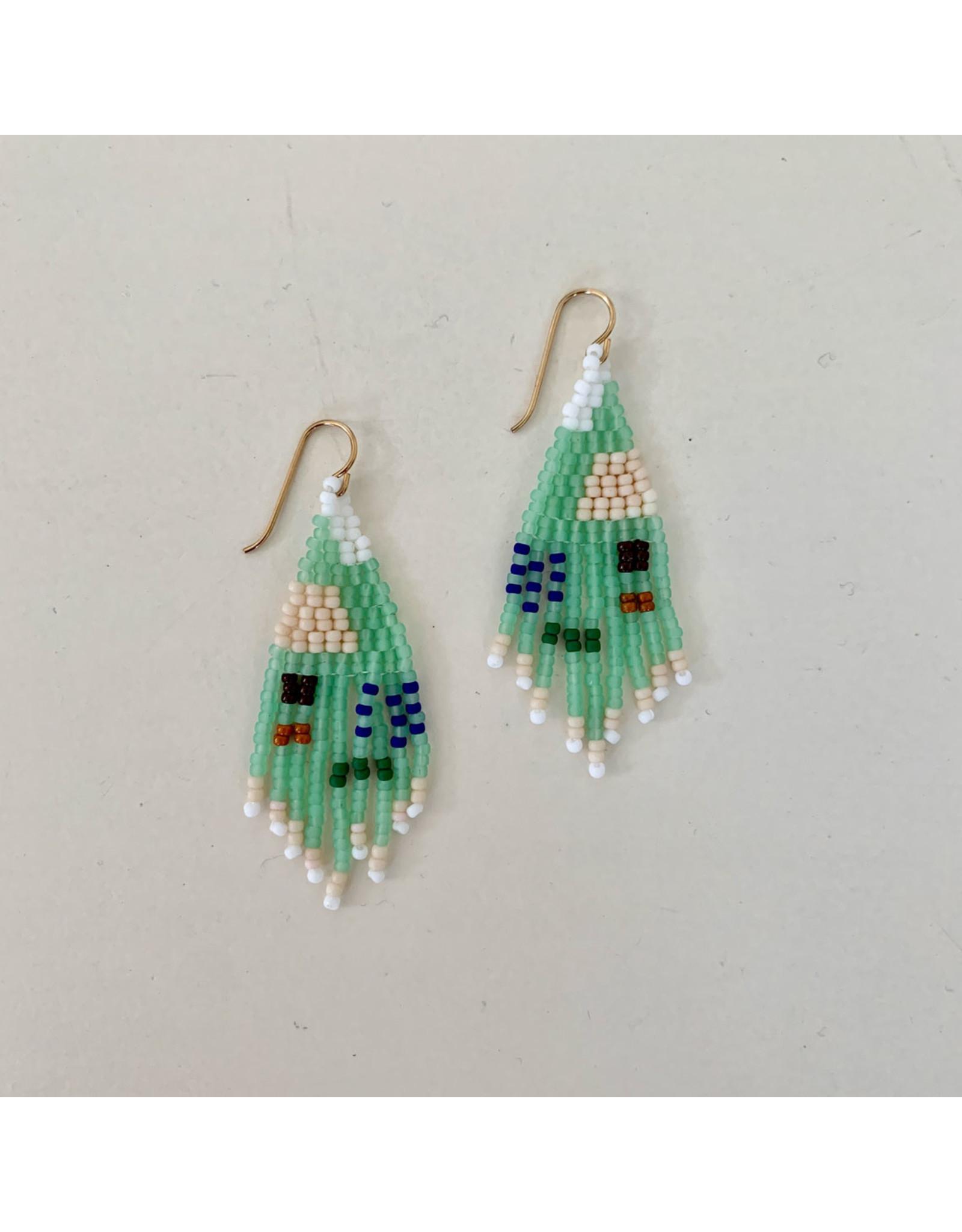 alice rise es4 baby boat to birdland turquoise earrings