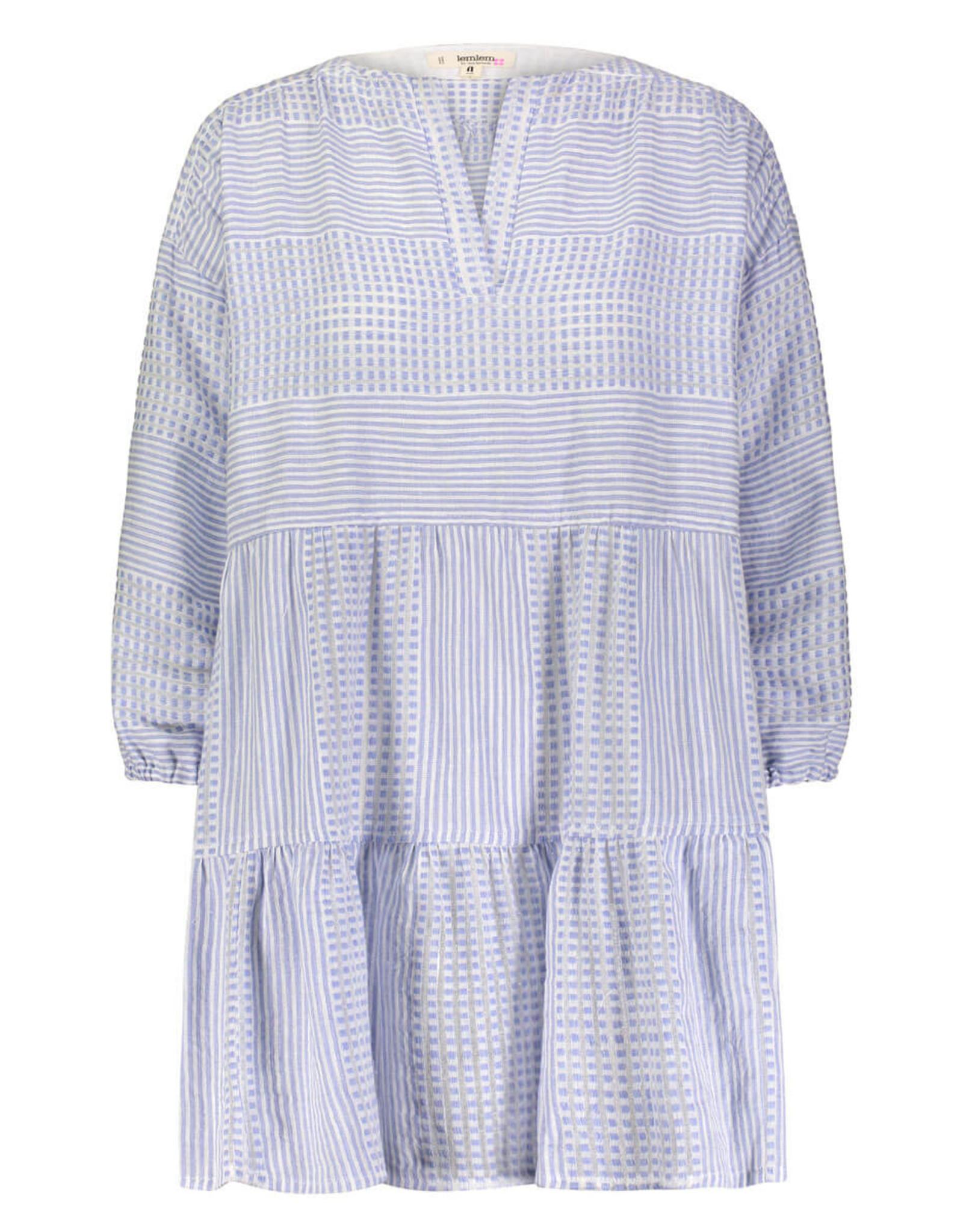 lemlem semira sky popover dress