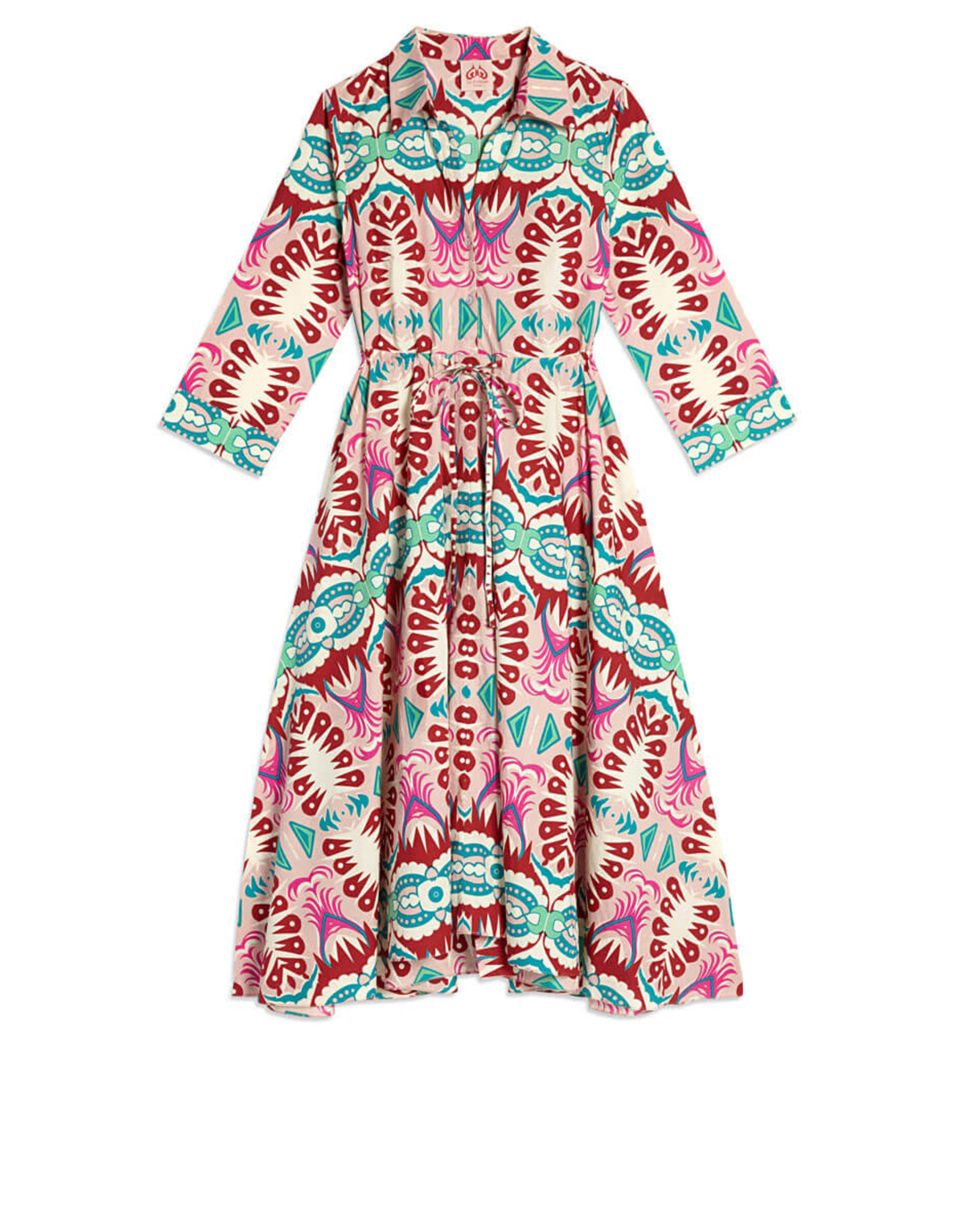 le sirenuse lucy fish tail dress
