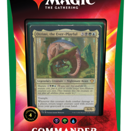 Wizards of the Coast Commander 2020 Enhanced Evolution (Blue-Black-Green)