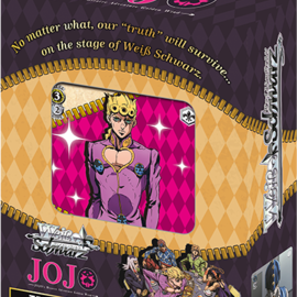 Weiss Schwarz JoJo's Blizzard Adventure: Golden Wind Trial Deck+