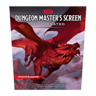 Wizards of the Coast D&D DM Screen Reincarnated
