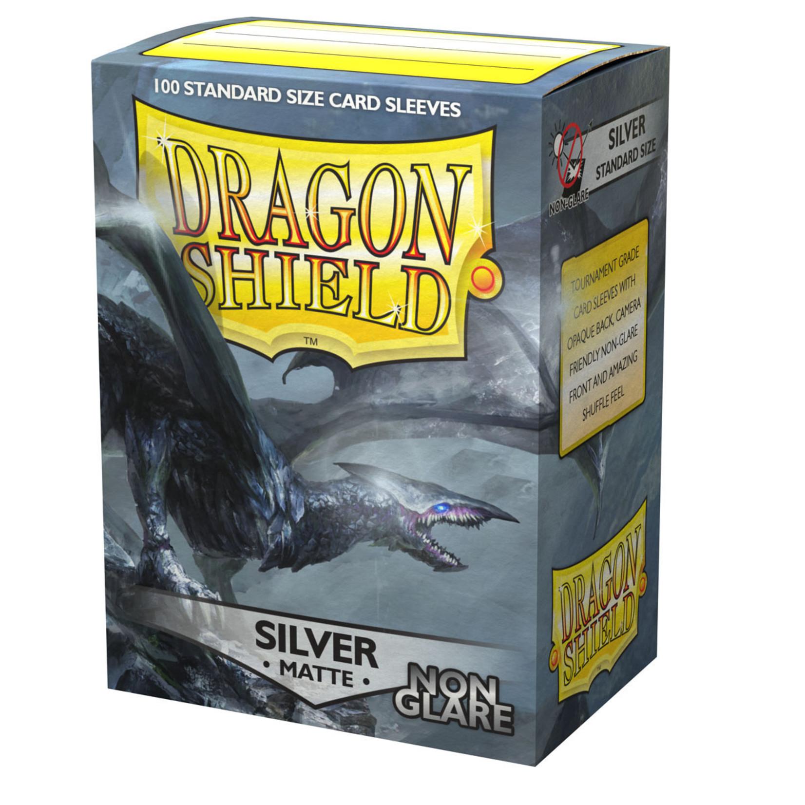 Arcane Tinmen Dragon Shield Matte Non-Glare Silver