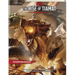 Wizards of the Coast D&D Rise of Tiamat