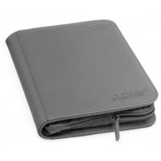 Ultimate Guard 4 Pocket Zip Folio Gray - Ultimate Guard