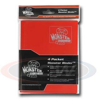 BCW Supplies 4-Pocket Red Binder - Monster