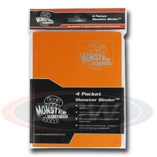 BCW Supplies 4-Pocket Orange Binder - Monster
