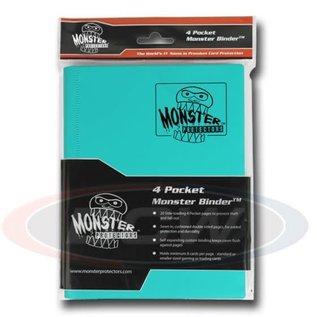 BCW Supplies 4-Pocket Teal Binder - Monster