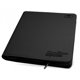 Ultimate Guard Black 12 Pocket Xenoskin Zipfolio - Ultimate Guard