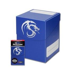 BCW Supplies Blue Large Deck Case - BCW