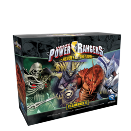 Renegade Game Studios PR Heroes of the Grid Villain Pack #1